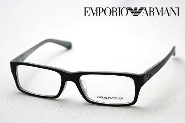 【 EMPORIO ARMANI】 エンポリオアルマーニ メガネ EA3003F 5056 メガネ 伊達メガネ 度付き ブルーライト ブルーライトカット 眼鏡 エンポリオ アルマーニ スクエア