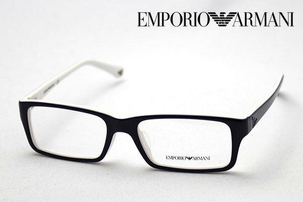 本日の朝9時59分終了 ほぼ全品ポイント15〜20倍+5倍 【EMPORIO ARMANI】 エンポリオアルマーニ メガネ EA3003F 5154 メガネ 伊達メガネ 度付き ブルーライト ブルーライトカット 眼鏡 エンポリオ アルマーニ スクエア