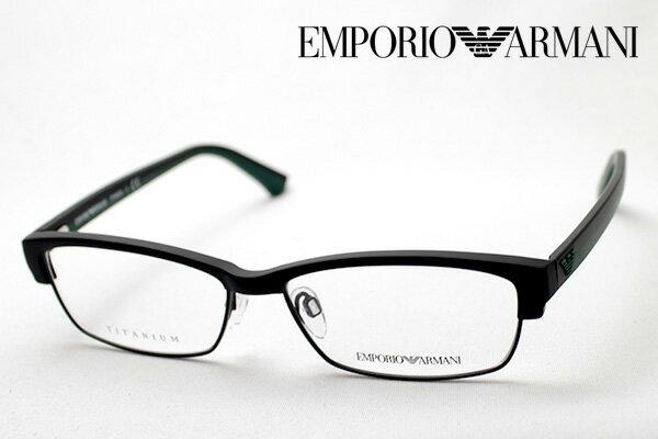 【 EMPORIO ARMANI】 エンポリオアルマーニ メガネ EA3046D 3001 メガネ 伊達メガネ 度付き ブルーライト ブルーライトカット 眼鏡 エンポリオ アルマーニ スクエア