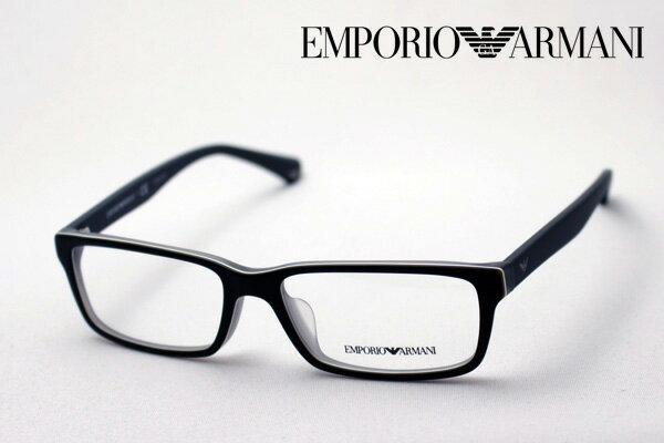 今夜23時59分終了 ほぼ全品ポイント20〜25倍+5倍のWチャンス 【EMPORIO ARMANI】 エンポリオアルマーニ メガネ EA3061F 5390 メガネ 伊達メガネ 度付き ブルーライト ブルーライトカット 眼鏡 エンポリオ アルマーニ スクエア