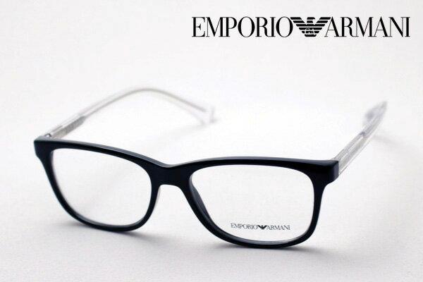 【EMPORIO ARMANI】 エンポリオアルマーニ メガネ EA3064 5017 メガネ 伊達メガネ 度付き ブルーライト ブルーライトカット 眼鏡 DEAL エンポリオ アルマーニ ウェリントン
