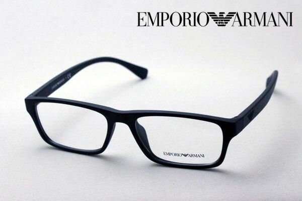 【 EMPORIO ARMANI】 エンポリオアルマーニ メガネ EA3088F 5042 メガネ 伊達メガネ 度付き ブルーライト ブルーライトカット 眼鏡 黒縁 エンポリオ アルマーニ スクエア