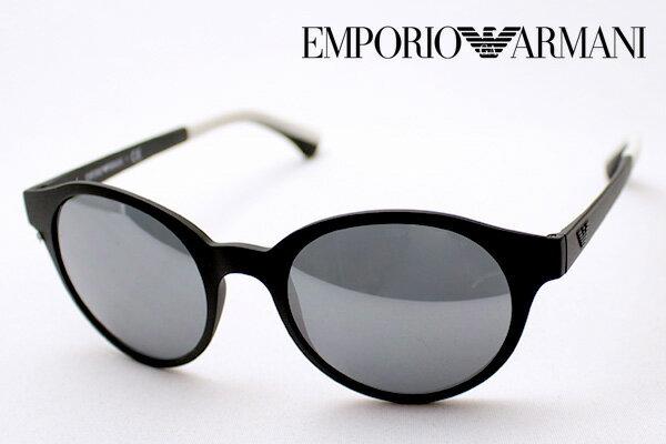 【EMPORIO ARMANI】 エンポリオアルマーニ サングラス EA4045 53236G エンポリオ アルマーニ ミラー ボストン