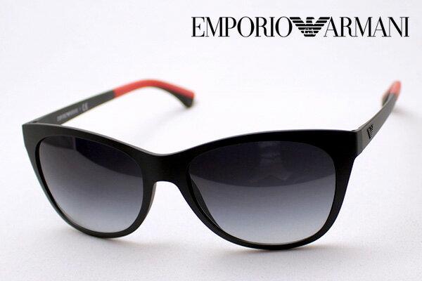 【EMPORIO ARMANI】 エンポリオアルマーニ サングラス EA4046 53418G エンポリオ アルマーニ ウェリントン