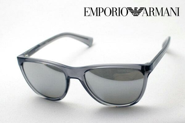 【EMPORIO ARMANI】 エンポリオアルマーニ サングラス DEAL EA4053 53726G エンポリオ アルマーニ ミラー