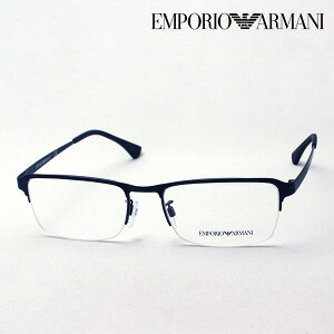 NewModel 【エンポリオアルマーニ メガネ 正規販売店】 EMPORIO ARMANI EA1093D 3001 メガネ 伊達メガネ 度付き ブルーライト カット 眼鏡 メタル エンポリオ アルマーニ ハーフリム