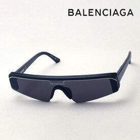 NewModel 【バレンシアガ サングラス 正規販売店】 BALENCIAGA バレンシアガ デムナ・ヴァザリアデザイン BB0003S 001 Made In Italy スクエア ブラック系
