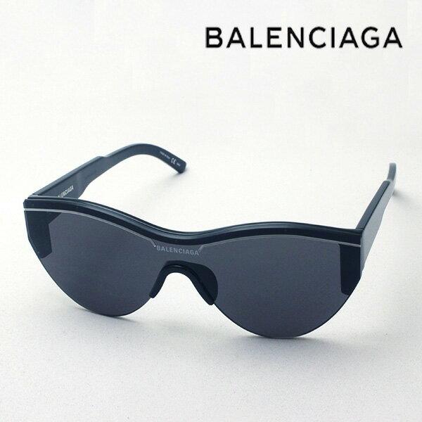 NewModel 【バレンシアガ サングラス 正規販売店】 BALENCIAGA バレンシアガ デムナ・ヴァザリアデザイン BB0004SA 001 Made In Italy フォックス