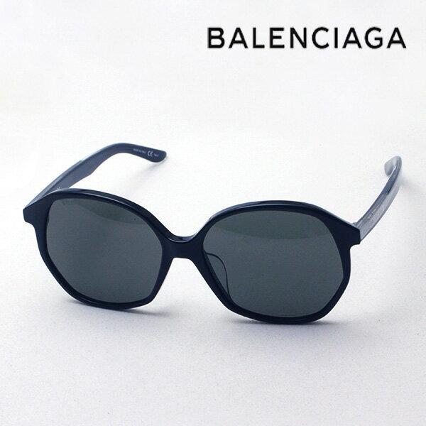 NewModel 【バレンシアガ サングラス 正規販売店】 BALENCIAGA バレンシアガ デムナ・ヴァザリアデザイン BB0005SK 001 Made In Italy バタフライ