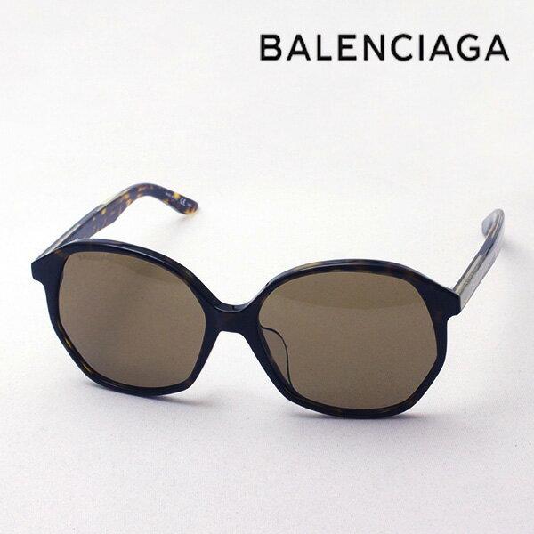 NewModel 【バレンシアガ サングラス 正規販売店】 BALENCIAGA バレンシアガ デムナ・ヴァザリアデザイン BB0005SK 002 Made In Italy バタフライ