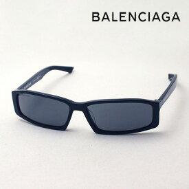 NewModel 【バレンシアガ サングラス 正規販売店】 BALENCIAGA バレンシアガ デムナ・ヴァザリアデザイン BB0008S 001 Made In Italy スクエア ブラック系