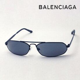 NewModel 【バレンシアガ サングラス 正規販売店】 BALENCIAGA バレンシアガ デムナ・ヴァザリアデザイン BB0010S 001 Made In Italy オーバル ブラック系