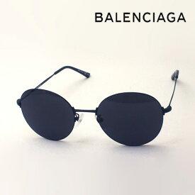 NewModel 【バレンシアガ サングラス 正規販売店】 BALENCIAGA バレンシアガ デムナ・ヴァザリアデザイン BB0016SK 001 Made In Italy ラウンド ブラック系