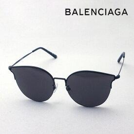 NewModel 【バレンシアガ サングラス 正規販売店】 BALENCIAGA バレンシアガ デムナ・ヴァザリアデザイン BB0021SK 001 Made In Italy フォックス