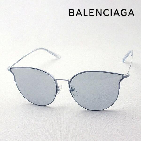 NewModel 【バレンシアガ サングラス 正規販売店】 BALENCIAGA バレンシアガ デムナ・ヴァザリアデザイン BB0021SK 006 Made In Italy フォックス ロゴマニア