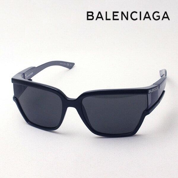 NewModel 【バレンシアガ サングラス 正規販売店】 BALENCIAGA バレンシアガ デムナ・ヴァザリアデザイン BB0039S 001 Made In Japan スクエア