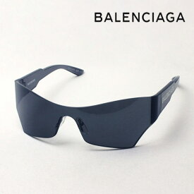 NewModel 【バレンシアガ サングラス 正規販売店】 BALENCIAGA バレンシアガ デムナ・ヴァザリアデザイン BB0040S 001 Made In Japan フォックス ブラック系