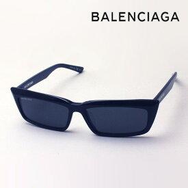 NewModel 【バレンシアガ サングラス 正規販売店】 BALENCIAGA バレンシアガ デムナ・ヴァザリアデザイン BB0047S 001 Made In Italy スクエア ブラック系