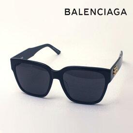 NewModel 【バレンシアガ サングラス 正規販売店】 BALENCIAGA バレンシアガ デムナ・ヴァザリアデザイン BB0056SA 001 Made In Italy スクエア ブラック系