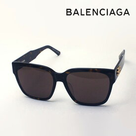 NewModel 【バレンシアガ サングラス 正規販売店】 BALENCIAGA バレンシアガ デムナ・ヴァザリアデザイン BB0056SA 002 Made In Italy スクエア トータス系