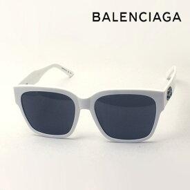 NewModel 【バレンシアガ サングラス 正規販売店】 BALENCIAGA バレンシアガ デムナ・ヴァザリアデザイン BB0056SA 003 Made In Italy スクエア ホワイト系