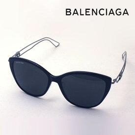 NewModel 【バレンシアガ サングラス 正規販売店】 BALENCIAGA バレンシアガ デムナ・ヴァザリアデザイン BB0057SK 001 Made In Italy フォックス ブラック系