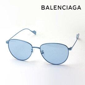 NewModel 【バレンシアガ サングラス 正規販売店】 BALENCIAGA バレンシアガ デムナ・ヴァザリアデザイン BB0088SK 002 Made In Italy ボストン ブルー系