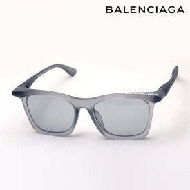 NewModel 【バレンシアガ サングラス 正規販売店】 BALENCIAGA バレンシアガ デムナ・ヴァザリアデザイン BB0099SA 002 Made In Italy ウェリントン グレー系