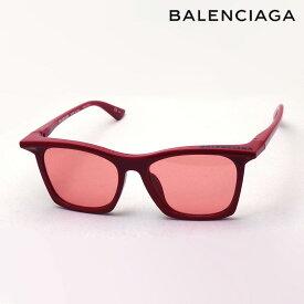 NewModel 【バレンシアガ サングラス 正規販売店】 BALENCIAGA バレンシアガ デムナ・ヴァザリアデザイン BB0099SA 006 Made In Italy ウェリントン レッド系