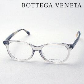 NewModel 【ボッテガ ヴェネタ メガネ 正規販売店】BOTTEGA VENETA BV0129OA 004 ボッテガヴェネタ 伊達メガネ 度付き ブルーライト カット 眼鏡 Made In Italy フォックス