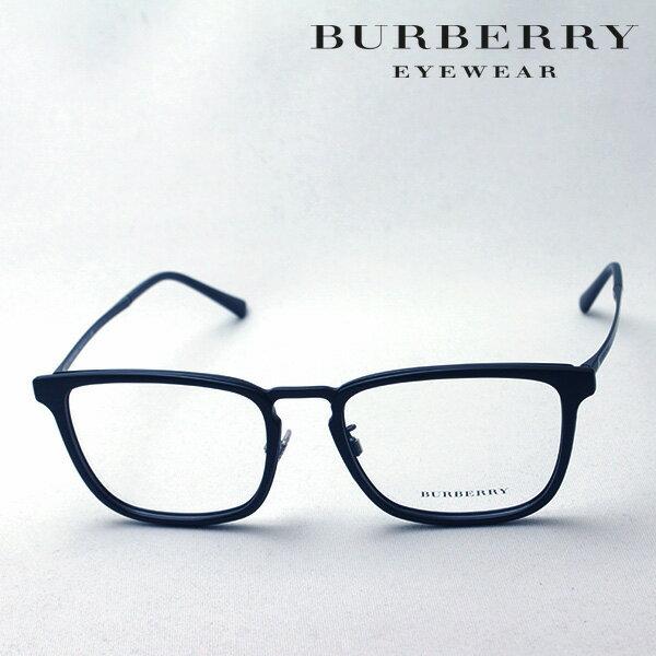 大ヒットモデル 2月22日(金)23時59分終了 ほぼ全品ポイント15倍+2倍 【バーバリー メガネ 正規販売店】 BURBERRY BE1316D 1007 伊達メガネ 度付き ブルーライト カット 眼鏡 丸メガネ Made In Italy スクエア