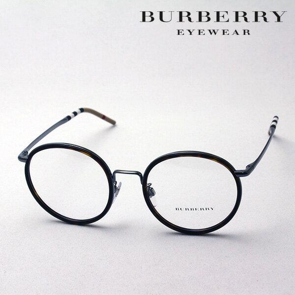 大ヒットモデル 4月22日(月)23時59分終了 ほぼ全品ポイント20倍+3倍のWチャンス 【バーバリー メガネ 正規販売店】 BURBERRY BE1326D 1003 伊達メガネ 度付き ブルーライト カット 眼鏡 Made In Italy ラウンド