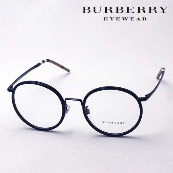 大ヒットモデル 4月22日(月)23時59分終了 ほぼ全品ポイント20倍+3倍のWチャンス 【バーバリー メガネ 正規販売店】 BURBERRY BE1326D 1007 伊達メガネ 度付き ブルーライト カット 眼鏡 Made In Italy ラウンド