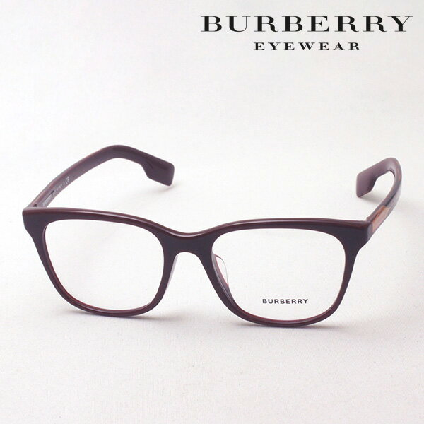 NewModel 4月22日(月)23時59分終了 ほぼ全品ポイント20倍+3倍のWチャンス 【バーバリー メガネ 正規販売店】 BURBERRY BE2284F 3760 伊達メガネ 度付き ブルーライト カット 眼鏡 Made In Italy スクエア