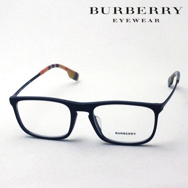 NewModel 4月22日(月)23時59分終了 ほぼ全品ポイント20倍+3倍のWチャンス 【バーバリー メガネ 正規販売店】 BURBERRY BE2288F 3464 伊達メガネ 度付き ブルーライト カット 眼鏡 Made In Italy スクエア