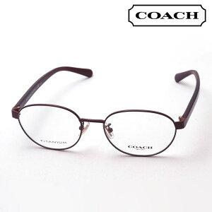 【コーチ メガネ 正規販売店】 COACH HC5113TD 9357 伊達メガネ 度付き ブルーライト カット 眼鏡 レディース オーバル レッド系
