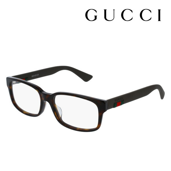 【GUCCI】 グッチ メガネ 正規販売店 2017年モデル アレッサンドロ・ミケーレデザイン GG0012OA 002 伊達メガネ 度付き 眼鏡 DEAL RUBBERIZED WEB FRAME Made In Italy DEAL スクエア