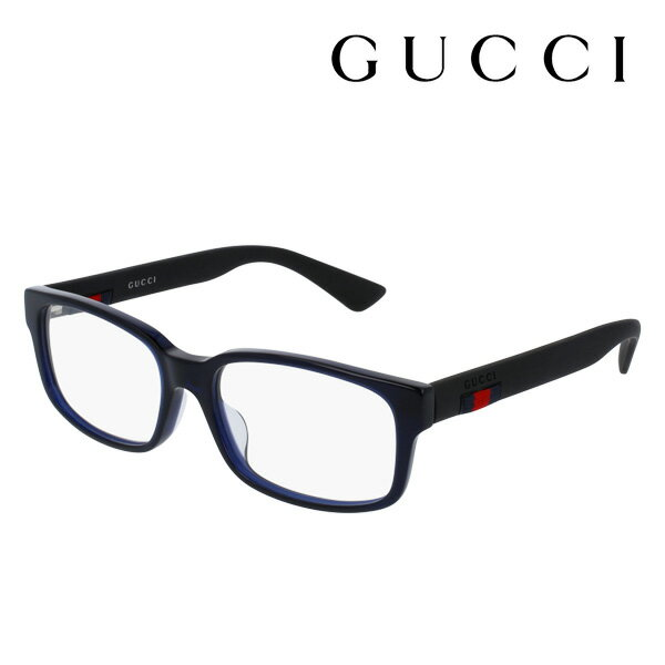 【GUCCI】 グッチ メガネ 正規販売店 2017年モデル アレッサンドロ・ミケーレデザイン GG0012OA 004 伊達メガネ 度付き 眼鏡 DEAL RUBBERIZED WEB FRAME Made In Italy DEAL スクエア