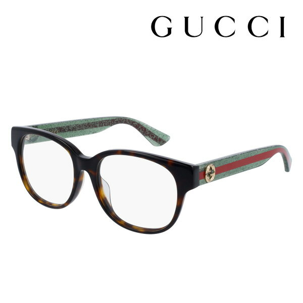 【GUCCI】 グッチ メガネ 正規販売店 2017年モデル アレッサンドロ・ミケーレデザイン GG0040OA 002 伊達メガネ 度付き 眼鏡 DEAL POP WEB WEB FRAME Made In Italy DEAL ウェリントン
