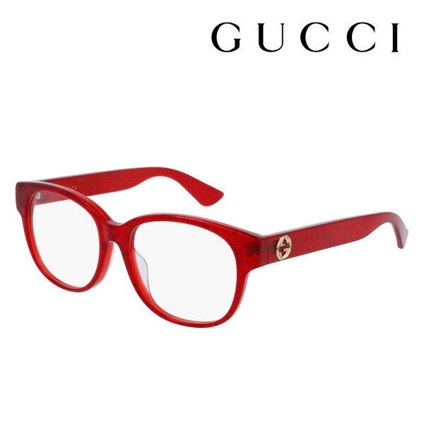 【GUCCI】 グッチ メガネ 正規販売店 2017年モデル アレッサンドロ・ミケーレデザイン GG0040OA 004 伊達メガネ 度付き 眼鏡 DEAL POP WEB Made In Italy DEAL ウェリントン