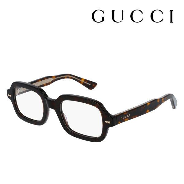 【GUCCI】 グッチ メガネ 正規販売店 2017年モデル アレッサンドロ・ミケーレデザイン GG0072O 002 伊達メガネ 度付き 眼鏡 DEAL DECORNESS Made In Italy スクエア