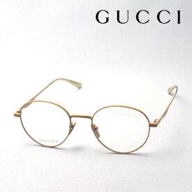 大ヒットモデル 今夜終了 ポイント11倍 4月3日(金)23時59分まで 【グッチ メガネ 正規販売認定店】 GUCCI アレッサンドロ・ミケーレデザイン GG0337O 005 伊達メガネ 度付き 眼鏡 Made In Japan ラウンド