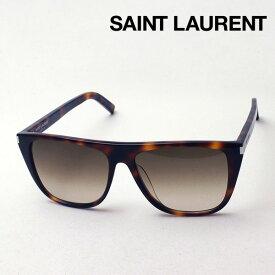 NewModel 【サンローラン サングラス 正規販売店】 SAINT LAURENT サン ローラン SL1F 004 Made In Italy スクエア
