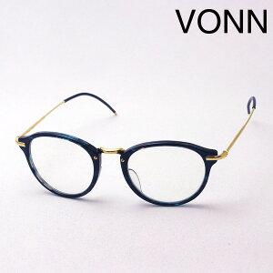 【VONN】 ヴォン メガネ VN-004 GREEN メガネ 伊達メガネ 度付き ブルーライト カット 眼鏡 丸メガネ シーマ CIMA ボストン