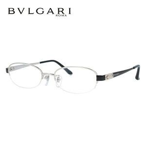 ブルガリ メガネ フレーム 眼鏡 BV2077TK 4020 51サイズ 度付きメガネ 伊達メガネ ブルーライト 遠近両用 老眼鏡 シルバー/ブラック レディース 【BVLGARI】 【正規品】