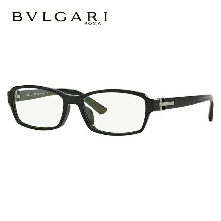 ブルガリ メガネ フレーム BV3025D 501 56サイズ アジアンフィット レディース メンズ ユニセックス スクエア 国内正規品 新品【BVLGARI】