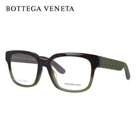 ボッテガヴェネタ メガネ フレーム 眼鏡 BV309F TMY 53サイズ 度付きメガネ 伊達メガネ ブルーライト 遠近両用 老眼鏡 アジアンフィット ウェリントン 【BOTTEGA VENETA】 【正規品】