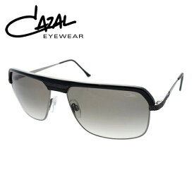 カザール サングラス 度付き対応 MOD.9040-001 ブラック&ガンメタル/グレーグラデーション レディース メンズ UVカット 紫外線対策 【CAZAL】