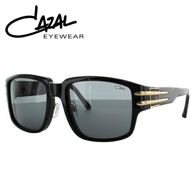 カザール サングラス 度付き対応 MOD.8026/1 C001 57 ブラック/ゴールド レギュラーフィット レディース メンズ 【CAZAL】