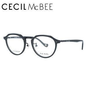【伊達・度付きレンズ無料】セシルマクビー メガネ フレーム 眼鏡 CMF7046-1 49サイズ 度付きメガネ 伊達メガネ ブルーライト 遠近両用 老眼鏡 レディース ボストン 新品 【CECIL McBee】 【送料無